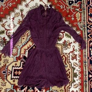 Xhilaration size M purple romper!